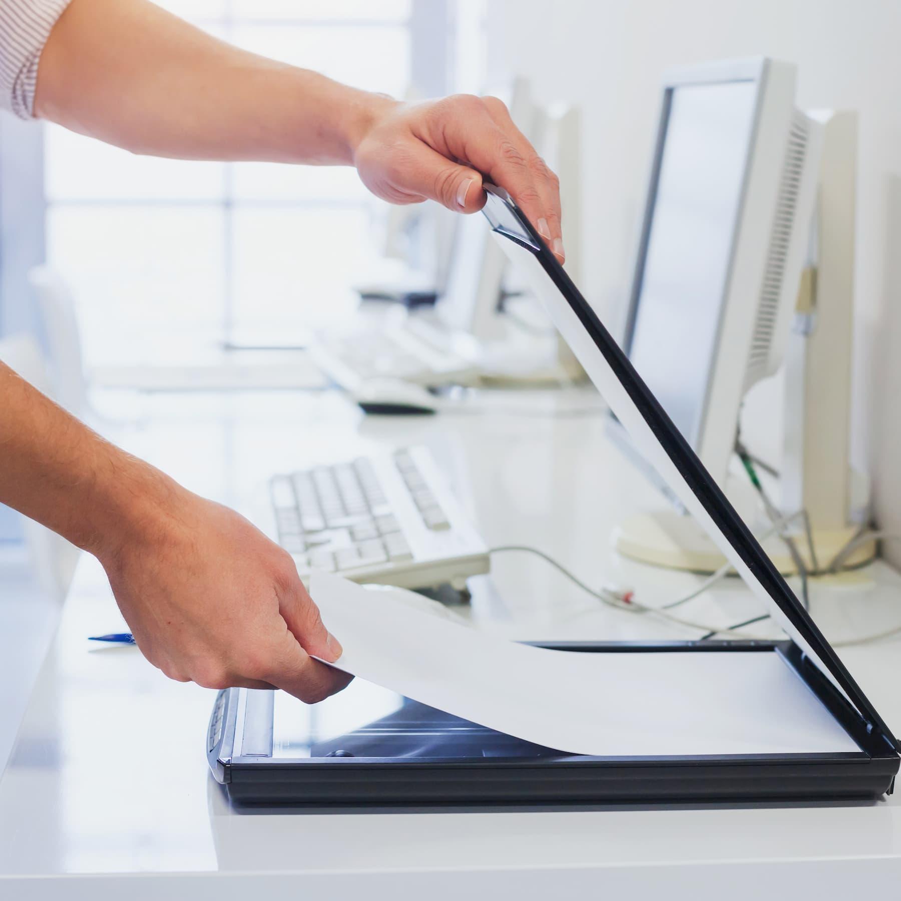 scanner desktop